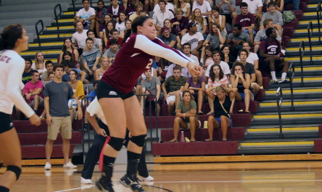 Volleyball Closes Out Yale Invitational Colgate University Athletics