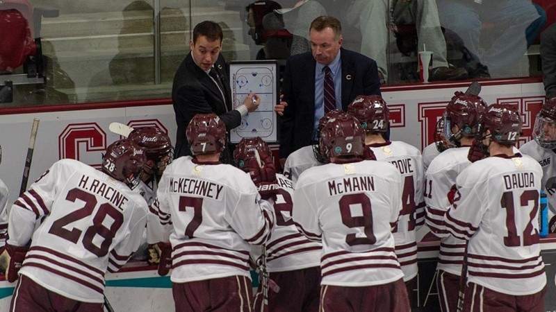 Men's Hockey's Borges Promoted, Riley Joins Staff
